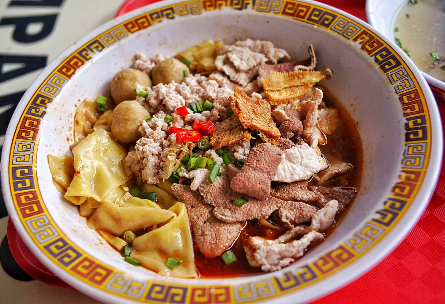 S$5 minced meat noodles from Hill Street Tai Hwa Pork Noodles
