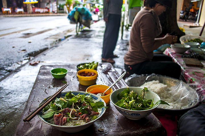 A Bowl of Pho in Vietnam