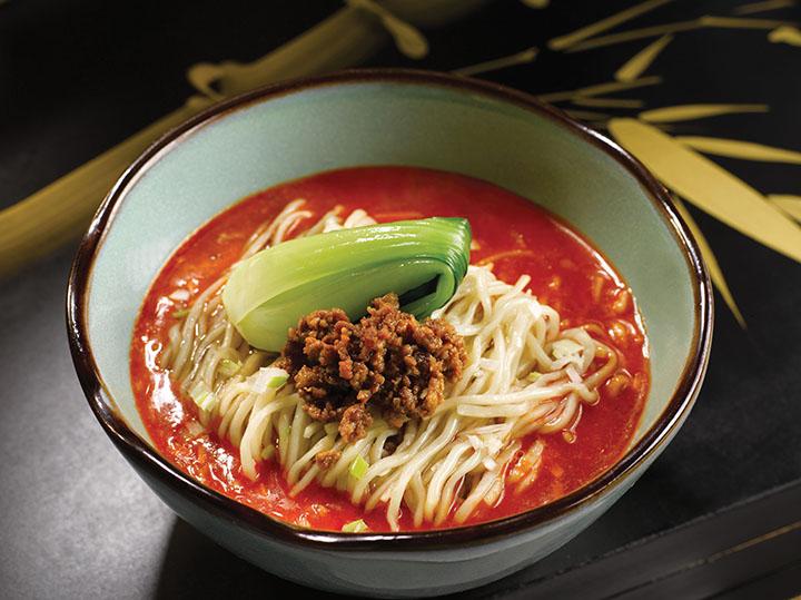 A dish from two-Michelin-starred Shisen Hanten