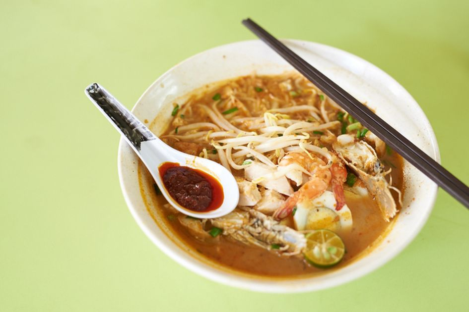 Mee siam from Famous Sungei Road Laksa stall