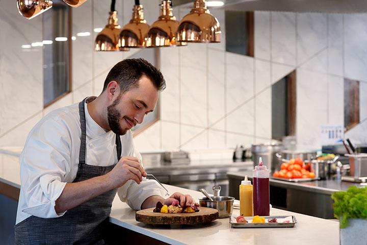 Chef Benjamin Halat of CURATE. Photo credit: Resorts World Sentosa.