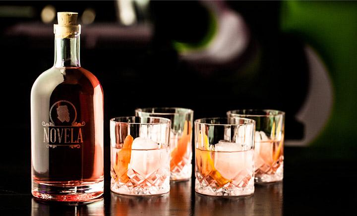 Novela的雞尾酒。攝影:Novela