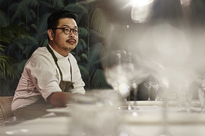 Chef Daniel Sia. Photography by Wong Weiliang.