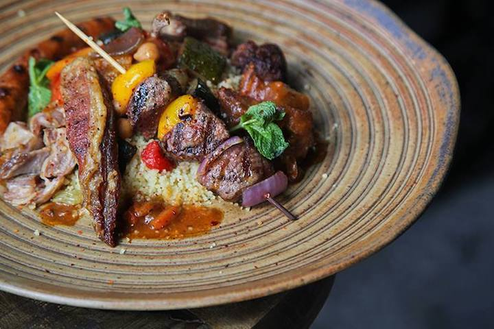Bar-Roque Grill is a new Bib Gourmand awardee this year.