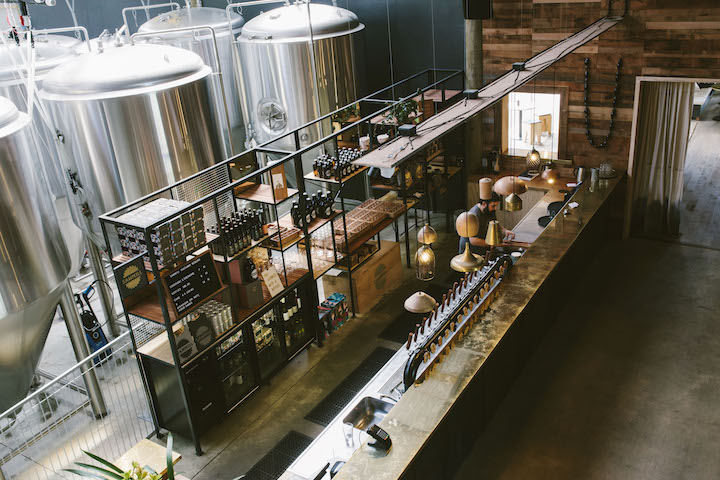 Sawmill Brewery gets its name from its location in an old sawmill. Photo Credit: New Zealand Tourism