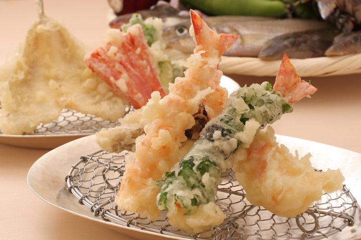 Tempura shrimp at Ippoh Tempura Bar by Ginza Ippoh