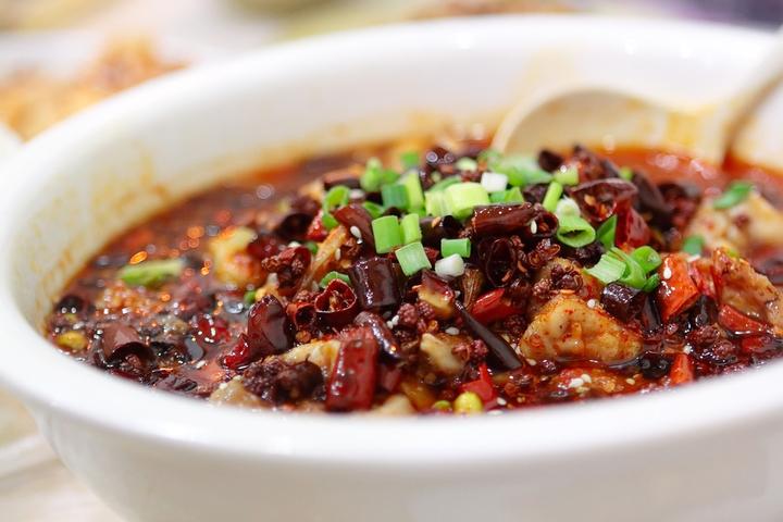 Shui Zhu Yu, a fiery Sichuan fish stew