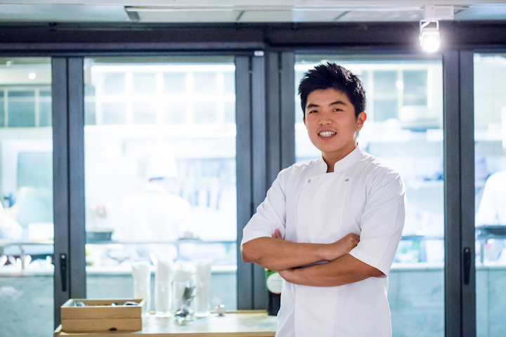 Chef Thitid Tassanakajohn, known more simply as chef Ton