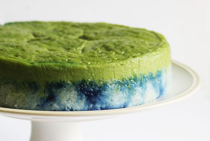 Chalk Farm's kueh salat cake