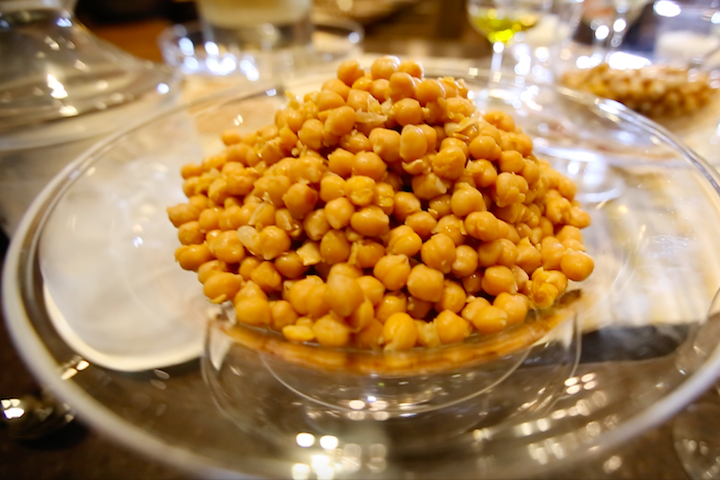 The base of all hummus is the humble chickpea.