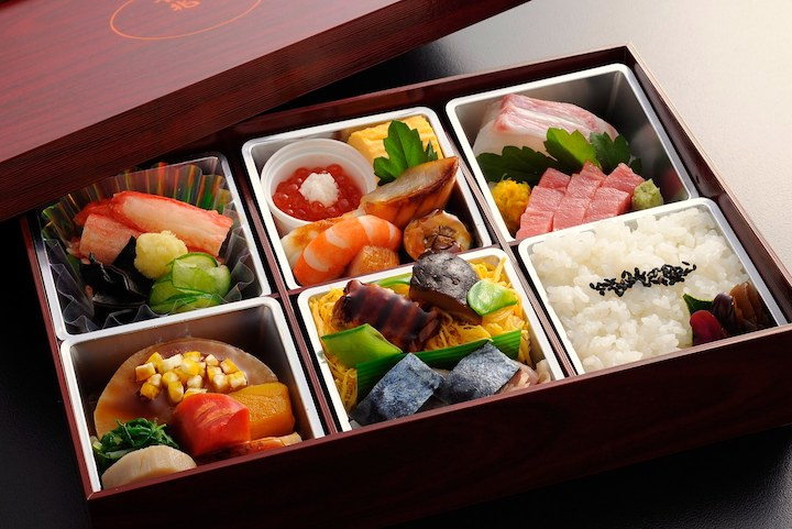 Kaiseki refers to a social gathering (kai, or 会) with seating (seki, or 席), an elaborate meal accompanied with sake.