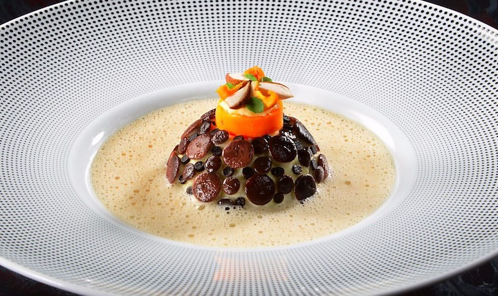 Late chef Benoît and his wife Brigitte Violier have earned three Michelin stars for their sumptuous French-inflected cuisine.