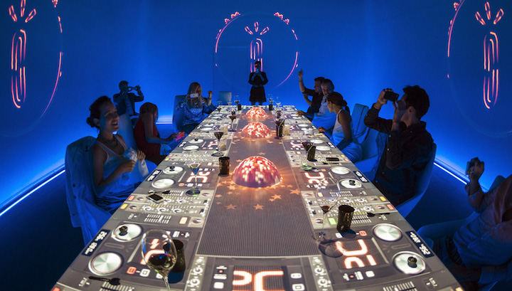 Helmed by Paco Roncero, SubliMotion offers diners a multi-sensory experience that combines food, art, and technology.