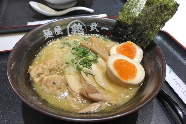 Special Shoyu Ramen ($17.20) from Menya Takeichi (Chicken-based stock).
