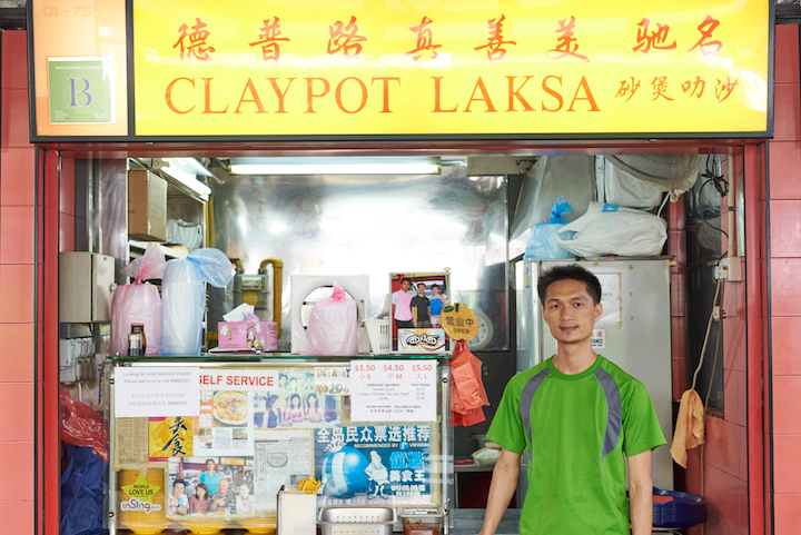 Owner  Zhang Li Jin uses a freshly-squeezed coconut milk in his laksa, which according to him, makes the gravy richer.