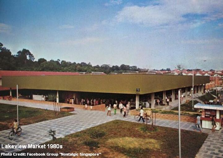 Lakeview Market back in 1980s.